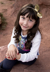 Portrait of a Girl (Captured by AMK) Tags: portraits portraitphotography redrocks project365