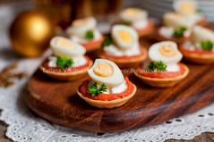 Little Tarts of Salmon, Cheese and Egg (dolphy_tv) Tags: appetizer buffet cake canape cheese christmas cooking cottagecheese cream creamcheese cuisine curd delicious dinner egg festive filled fingerfood fish food fromageblanc holiday homemade kitchen lunch meal mini mousse newyear parsley party pastry pie portion quail quark red salmon salted savory seafood serving small smoked smokedsalmon snack starter table tart tartlet trout