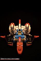Z WR Top (Sam.C (S2 Toys Studios)) Tags: zetagundam gundam mobilesuit lego moc s2 80s scifi mecha anime japan spacecraft