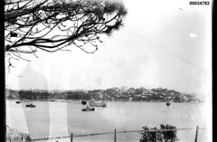 Rose bay to Point Piper in Sydney (Australian National Maritime Museum on The Commons) Tags: hmastingira navy sailors bwphotograph nsssobraon sydneyharbour rosebay berrysbay