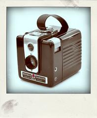 Kodak Brownie Hawkeye (Leo Reynolds) Tags: xleol30x poladroid polaroid faux fauxpolaroid fake fakepolaroid phoney phoneypolaroid camera nottakenbyme