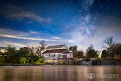 Falls of Rough - Milky Way (AP Imagery) Tags: rubex galaxy falls historic grayson urbandecay abandoned fallsofrough night milkyway mill greenbrothers history sky ky nightscape kentucky county roughriver usa