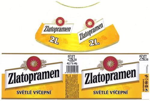 Cask Zlatopramen, 2 l, 2016