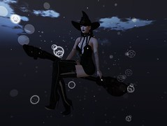 En route pour Halloween (Ticha31) Tags: nixclub birdy reign glam affair laq white widow tsg halloween particles