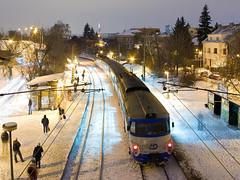 451.069-9 D, Os 2540, Praha-Stranice zastvka (cz.fabijan) Tags: railway eleznice train vlak d eskdrhy 451 praha stranice 451069 os2540