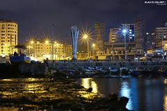 The Port of Gaza, (TeamPalestina) Tags: gaza palestinian sun sunset sunrise sweet sky beautifull comfort live sunrays photo photographer landscapecaptures natural  palestine landscape landscapes nice am amazing canon