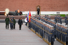 Burmese General @ Kremlin Military Ceremony (potterandrew1) Tags: kremlin moscow ceremony groundforces inspection militaryparade paradeinspection russianarmy russiansoldiers soldiers standingtoattention tomboftheunknownsoldier modernlife today