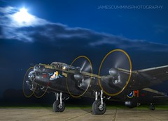 Appointment By Moonlight (70C Photography) Tags: lancaster bombercommand eastkirkby justjane raf never forgotten moonlight lincolnshire canon7d aircraft aviation unitedkingdom british bomber bomberboys outdoors jamescummins tle