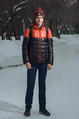 Alexey / Stranger portrait / On the street / Novosibirsk / Siberia / 01.12.2016 (mksystem) Tags: d600 koninin nikon novosibirsk siberia
