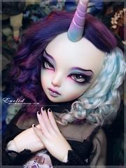 Her Gift To Me - Euclid (BlueRoseArkelle) Tags: bjd msd fairyland fairyline minifee mnf seahorse luka mod arkelle bluerosearkelle c|m