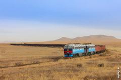 Autumn ... (N.Batkhurel) Tags: season autumn freighttrain trains train trainspotting transport railway railfan locomotive ubtz 1520 mongolia ngc
