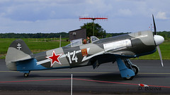 Yakovlev Yak 3 n 25111/05 ~ F-AZNN / 14 (Aero.passion DBC-1) Tags: meeting avord 2008 dbc1 david biscove aeropassion airshow aviation avion plane aircraft yakovlev yak3 ~ faznn