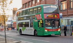 National Express West Midlands 5408 BX61 LHK - ADL Enviro 400 Hybrid (Retroscania!) Tags: bus buses nationalexpress publictransport wolverhampton alexander dennis adl enviro400 hybrid brandedbuses
