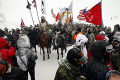 The Standing Rock Sioux will be ready to take a Trump challenge to courts (makecitysmarter) Tags: cannonball nd unitedstates