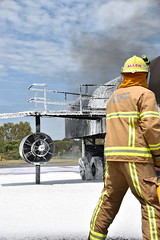 ARFF foam training (coghilla) Tags: gcairport gold coast airport arff fire aviation rescue panther asa airservicesaustralia qld queensland ool ybcg