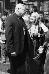 Satanic religious (Julin del Nogal) Tags: satanic halloween nun priest streetphotography character characters