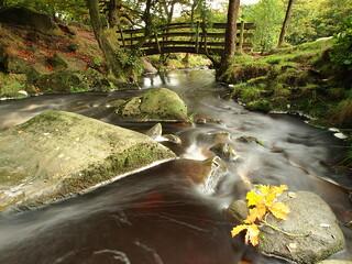 Padley gorge bridge