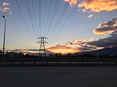 Birds ara flying... (Mahir Y) Tags: sunrise gnbatm gndoumu kularuuyor elektrik electricity birds birdsareflying sunset