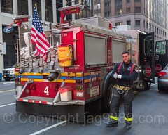 "FDNY ""Wall Street"" Engine 4 Fire Truck, Financial District, New York City (jag9889) Tags: jag9889 usa thinblueline manhattan engine newyork outdoor 2016 firefighter lowermanhattan financialdistrict newyorkcity waterstreet fdny 20161114 e004e kme apparatus blueline bravest e004 engine4 firedepartment firedepartmentofthecityofnewyork firedivision firefighters firetruck firstresponder justice kmefireapparatus kovach ny nyc nypd newyorkcityfiredepartment newyorksbravest police policeforce prideofsouthstreet pumpertruck support truck unitedstates unitedstatesofamerica vehicle wallstreet us"