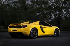 McLaren MP4-12C. (Andy @ Pang Ket Vui ( shootx2 )) Tags: mp412c yellow supercar spider d800 nikon v8 twin turbo m838t 38l mclaren bungalow