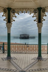 Beauty is a matter of perception (Nick Fewings 4.5 Million Views) Tags: flickr symmetry symmetrical pier brighton sussex december nick fewings west