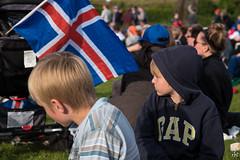Óliver og Daníel á Stakkatúni (Runolfur Birgir) Tags: eventstags vestmannaeyjar landshlutar óliver fjöldasamkomur daníel suðurland placestags fólk barnabörn