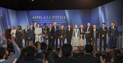 With international dignitaries participating in Mutualit Hall  Paris, Nov. 26-2016 (maryamrajavi) Tags: maryamrajavi endingimpunity syria ghozali aleppo againsthumanity iran iranianresistance regime iranianregime pmoi campliberty mullahs ashraf valiant massoudrajavi freedom khamenei maleki attacks parliament evinprison gohardasht politicalprisoners 1988 existence people worldpowers us massacres middleeast movement victory