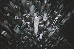 Gotham metropolis (Panda1339) Tags: gotham fromthesky urban dark aerial moody usa newyorkcity nyc 28mm leicaq summiluxq flynyon cinematic