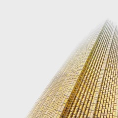 Golden Shaft (@ThetaState) Tags: archidose curtainwall windows glass gold royalbankplaza financialdistrict baystreet officetower minimalist urbantoronto building architecture 2016 november canada ontario toronto