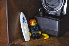 Relaxation time! 😴 (parik.v9906) Tags: board surfboard banana wood indoors charger sony dude surf nap sleep relax december cold camera d90 nikon project days 365project 365days minifigures minifigure minifig legos lego