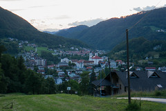Dusk at Zagorje (agu²!) Tags: road houses sky atardecer town village sundown camino dusk pueblo valle slovenia cielo valley lugares slovenija casas eslovenia zagorje zagorjeobsavi