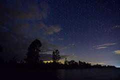 Sandbanks Twilight-0410 (RG Rutkay) Tags: sky ontario silhouette night clouds stars landscape evening twilight natural westlake sandbanksprovincialpark