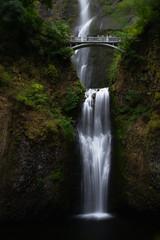 Multnomah Falls (Dalliance with Light (Andy Farmer)) Tags: bridge nature water oregon landscape us waterfall unitedstates falls columbiarivergorge multnomahcreek cascadelocks