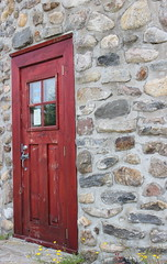 The Red Door (pegase1972) Tags: door canada quebec qubec porte qc