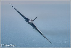 Beachy Head-21 (simon_x_george) Tags: sea seascape head aviation military low jet airshow level eastbourne vulcan beachy avro airbourne 2015 xh558 2015beachyheadeastbourne
