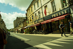 20150804-23_Striding Out_Bayeux_Bar Tabac Presse (gary.hadden) Tags: france bar cityscape streetscene tabac normandie townscape normandy calvados bayeux presse striding