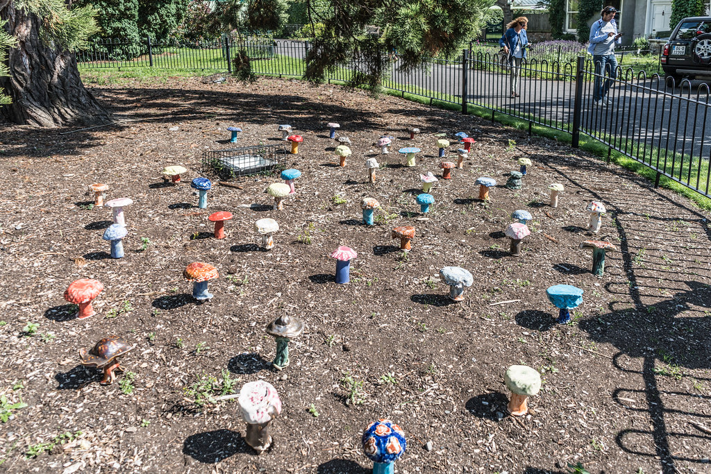 SCULPTURE IN CONTEXT 2015 AT THE NATIONAL BOTANIC GARDENS [UNOFFICIAL PREVIEW] REF-107346