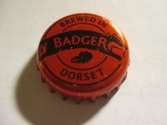 Badger - Legendary Tangle Foot (kalscrowncaps) Tags: beer soft caps ale cider drinks crown bier soda pils lager