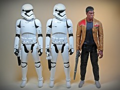 Hasbro  Star Wars  Force Awakens  12-inch Figure Series  Uniform? (My Toy Museum) Tags: order force action first figure stormtrooper ren finn hasbro awakens kylo jakku