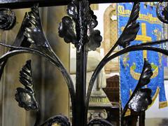 St Mark Worsley. Detail of Ironwork by Skidmore (Fiona Moate) Tags: salford georgegilbertscott victorianchurch earlofellesmere stmarkworsley