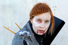 Paivi (Poupetta) Tags: helsinki zombie stranger redhead pivi