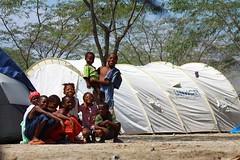 haiti_11 (( Voice Nature. )) Tags: children haiti earthquake visibility naturaldisaster hti idps internallydisplaced fondparisien lightweighttents bjorgvinsson northamericaandthecaribbean