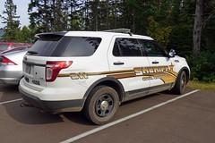 Cook Co Sheriff_P1110278 (pluto665) Tags: car explorer pi squad suv cruiser copcar