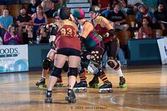 rebels_vs_panic_L3506649 1 (nocklebeast) Tags: ca usa santacruz rollerderby rollergirls zombies vampires skates organicpanic santacruzderbygirls redwoodrebels
