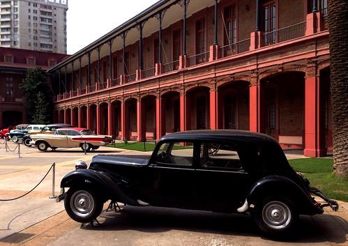 Citroën Traction Avant 11CV - Colección Lira, Museo Histórico Militar