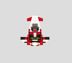Microfighter M50 top (turbokiwi) Tags: lego chibi mini spaceship m50 starcitizen microfighters