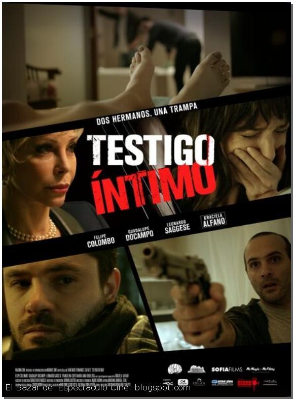 Ver Testigo intimo Online (2015) HD Gratis Pelicula Completa