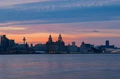 Liverpool Sunrise 2 (nicknpd) Tags: uk liverpool sunrise orangesky mersey wallasey merseyside