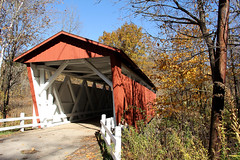 Covered Bridge in Autumn (craigsanders429) Tags: autumn autumnfoliage fall fallcolors bridges autumncolors fallfoliage coveredbridge cuyahogavalleynationalpark autumnphotography fallfoliagephotography
