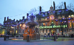 Leicester Town Hall Square (lcfcian1) Tags: christmas fountain square town hall nikon leicestershire leicester nikond3200 christmasgreetings leicestercitycentre leicestertownhallsquare leicesterfountain leicesterchristmasdecorations leicestertownhallsquarechristmas